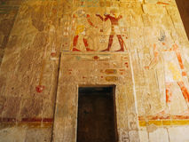Mortuary Temple of Ramesses III at Medinet Habu. The Mortuary Temple of Ramesses III at Medinet Habu is an important New Kingdom period structure in the West royalty free stock photography