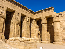 Mortuary Temple of Ramses III in Egypt Royalty Free Stock Image