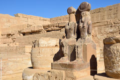 Mortuary Temple of Ramses III Royalty Free Stock Image
