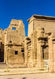 The mortuary Temple of Ramses III near Luxor Stock Photos
