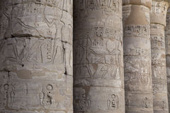 Mortuary Temple of Ramses 3 in Medinet Habu. Ancient Egypt royalty free stock images