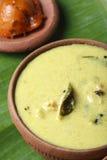 Moru curry or kalan - a traditional kerala dish Stock Photography