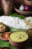 Moru curry or kalan - a traditional kerala dish Royalty Free Stock Photos