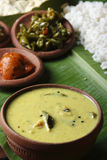 Moru curry or kalan - a traditional kerala dish Royalty Free Stock Photography