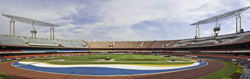 Morumbi Stadium - Sao Paulo - Brazil Royalty Free Stock Photo