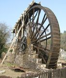 Morwellham奎伊德文郡英国水轮  库存照片