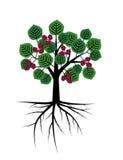 Morwowy abstrakcjonistyczny drzewo Zdjęcia Royalty Free