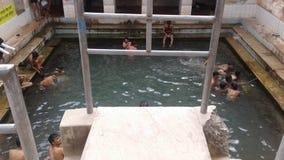 Mory sagar kund |szwalny basen |wodna tapeta zdjęcia royalty free