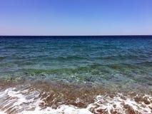 Morza ?r?dziemnomorskiego, Antalya wybrze?e, Turcja zdjęcie stock