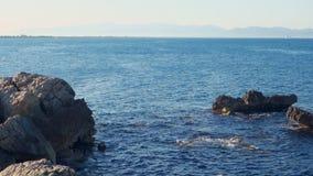 Morza Śródziemnomorskiego wybrzeże, Costa Brava i góry nakrętka De Creus, zbiory