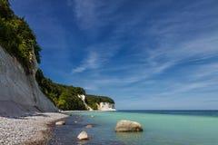 Morza Bałtyckiego wybrzeże zdjęcie stock