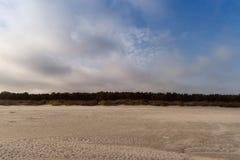 Morza Bałtyckiego wybrzeże blisko Ahrenshoop Obrazy Stock