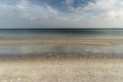 Morza Bałtyckiego wybrzeże blisko Ahrenshoop Obraz Stock