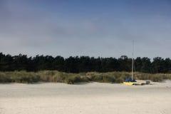 Morza Bałtyckiego wybrzeże blisko Ahrenshoop Zdjęcie Stock