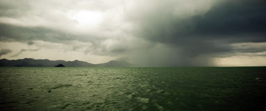 morza burzowi Zdjęcia Royalty Free