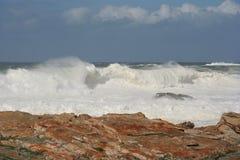 morza burzowi Fotografia Royalty Free