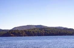 Morza i krajobrazu widok Zdjęcie Stock