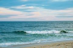 Morza i niebo oceanu nieba fala Obraz Stock