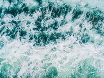 Morza i oceanu wodnej fala powierzchnia i tekstury Zdjęcia Royalty Free
