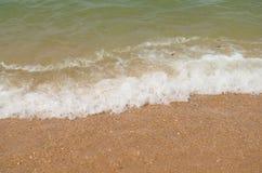 Morza i plaży fala fotografia royalty free