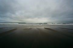 Morza i plaży tło Fotografia Stock