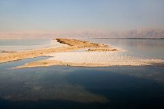 morza martwego Obrazy Royalty Free