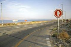 morza martwego znak stop Obraz Stock
