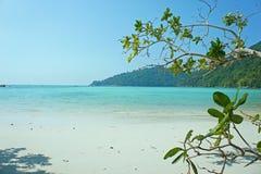 Morza nieba surin plażowa wyspa Thailand Zdjęcia Royalty Free