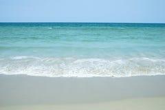Morza niebo i plaża Obrazy Stock