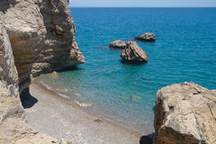 Morza wybrzeże, Turcja. obraz royalty free