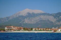 Morza wybrzeże, Turcja. obrazy royalty free