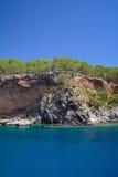 Morza wybrzeże, Turcja. fotografia stock