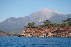 Morza wybrzeże, Turcja. zdjęcia stock