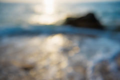 Morza zamazany tło Obraz Stock
