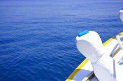 morze, łódź Fotografia Stock