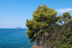 morze śródziemnomorskie Obraz Royalty Free