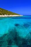 Morze Śródziemnomorskie i Dodecanese wyspy Obraz Stock