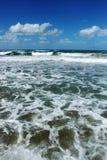 Morze Śródziemnomorskie - morze i niebo obrazy stock