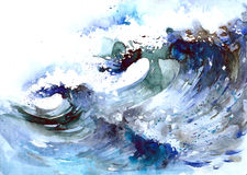 Morze Royalty Ilustracja