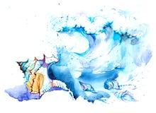 Morze Ilustracji