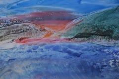 Morze, abstrakt Zdjęcia Stock