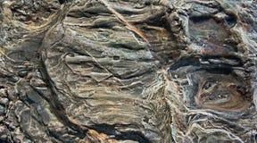 Morze Będąca ubranym skała obraz stock