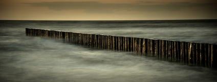 Morze Bałtyckie idylla zdjęcie stock