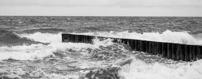 Morze Bałtyckie idylla obrazy stock