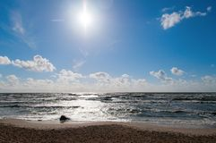 Morze Bałtyckie (1) Zdjęcia Stock