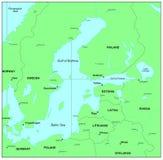 morze bałtyckie ilustracji