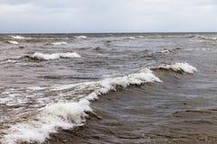 morze bałtyckie burzowy zdjęcie royalty free