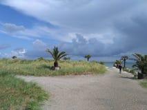 Morze Bałtyckie przy Skagen zdjęcie stock