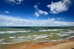 Morze Bałtyckie brzeg Obrazy Stock