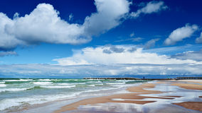 Morze Bałtyckie brzeg Zdjęcia Royalty Free